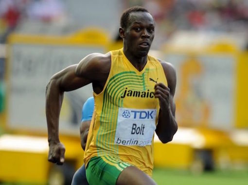 He is a icon of the world sport. Usain Bolt, made in Jamaica.
