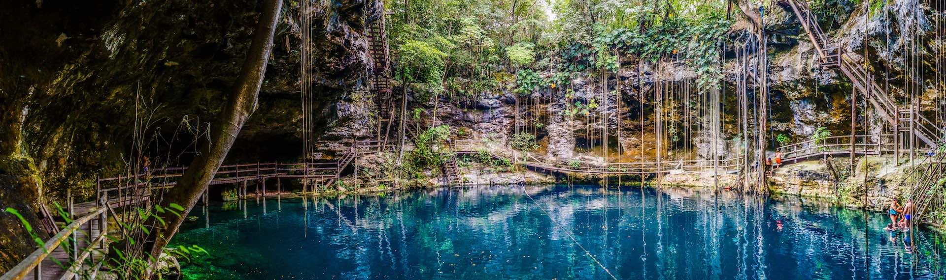 Renew yourself in the incredible cenotes in Valladolid Mexico