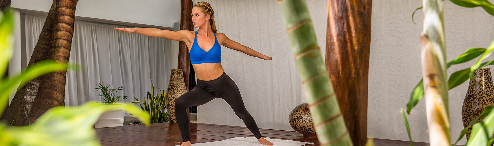 Yoga As Part of A Wellness Vacation