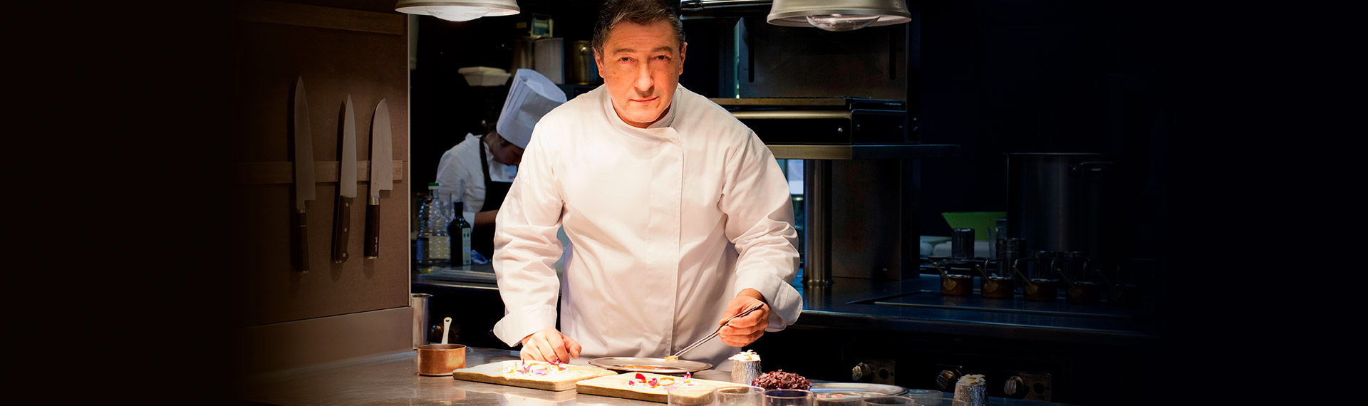 Michelin Star Chef in Cancun - Joan Roca