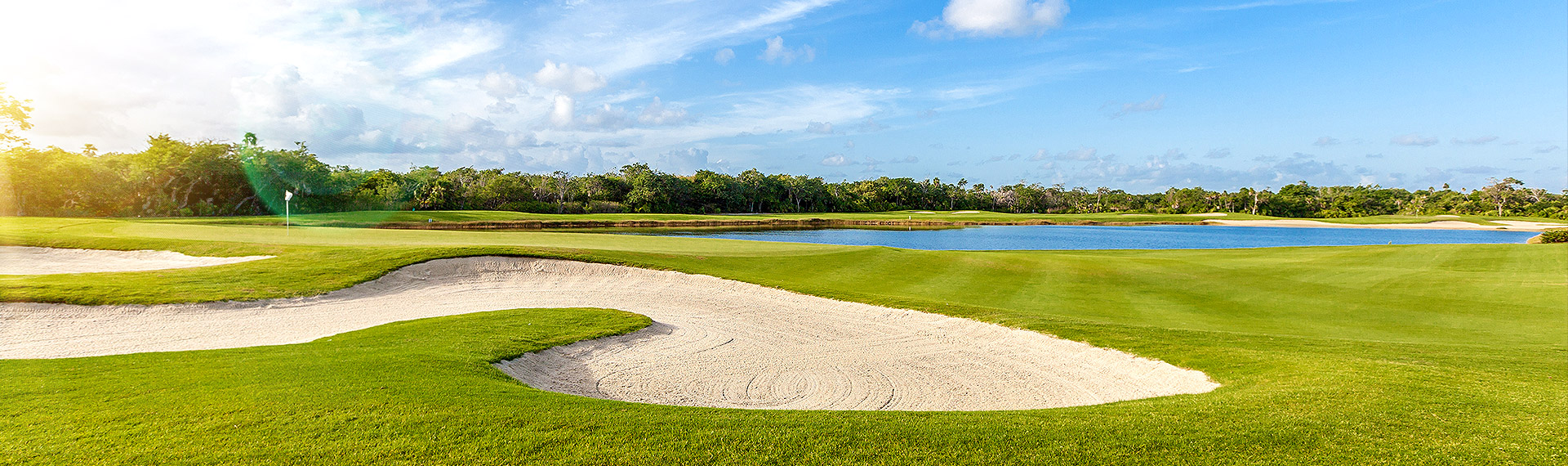 Exclusive fields for lovers Cancun golf