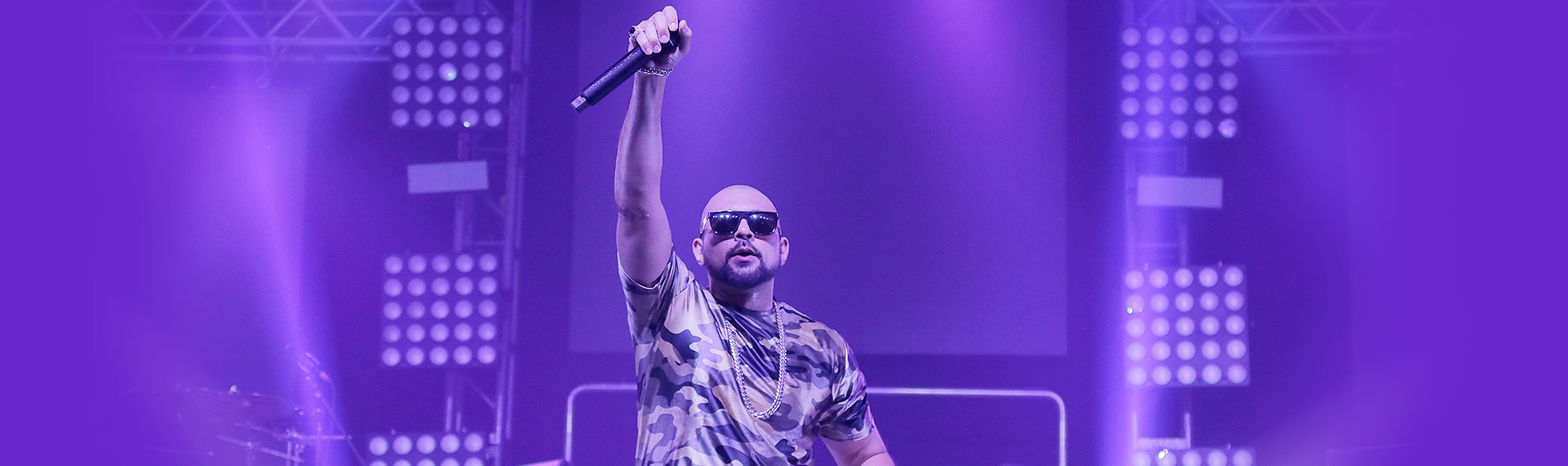 Sean Paul in concert at Moon Palace Jamaica