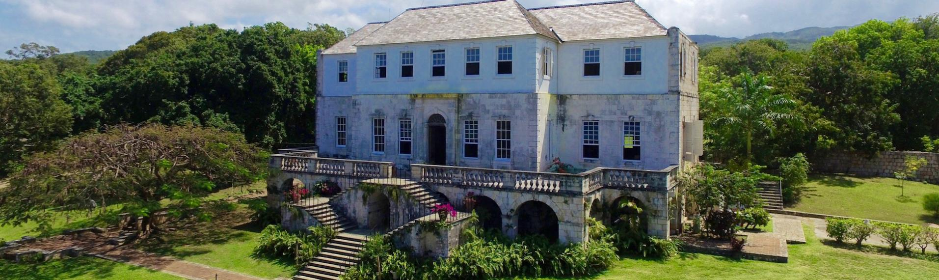 Rose Hall is the haunted mansion in Jamaica