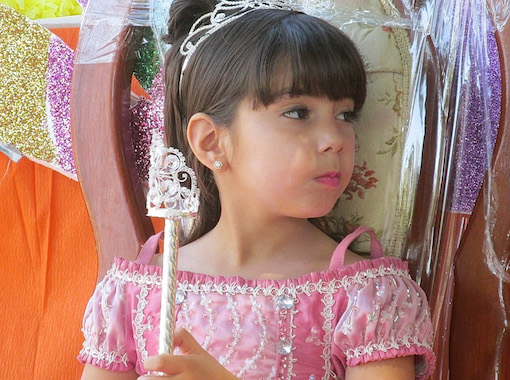 Little princess the beauty of Mexican beauty in Los Cabos