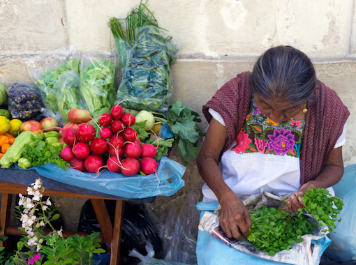 Visit the vegetable place and meet the beautiful people of Valladolid Mexico