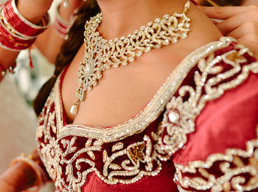 luxurious Indian wedding accessories
