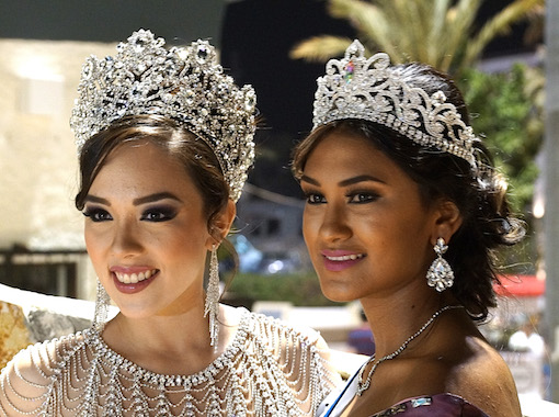 Queens of the Festival de San José del Cabo faithful exponents of Mexican beauty