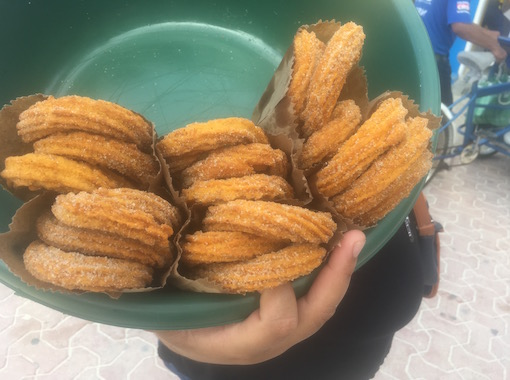 Churros are one of the most popular Mexican sweets