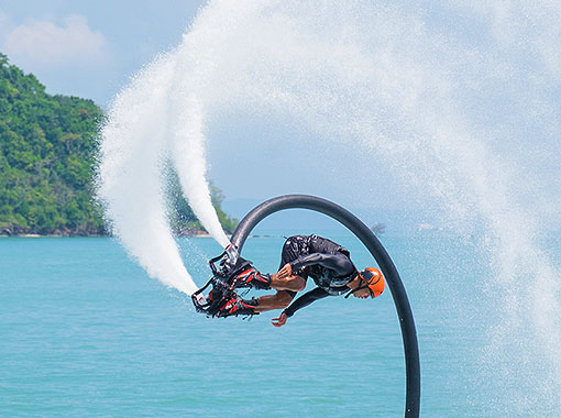 Flyboard and more in Jamaica