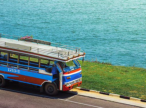 Buses are a great way to move around Cancun