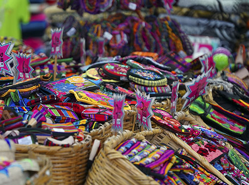 Mexican crafts hand woven