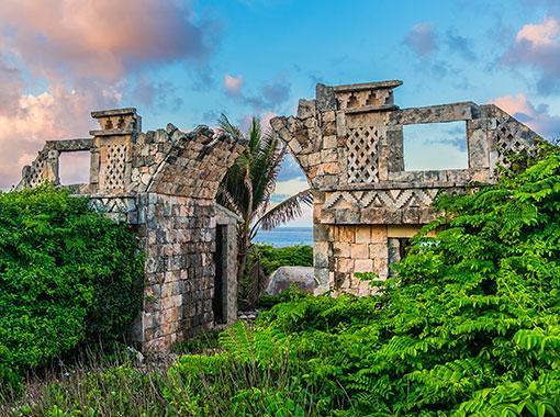 The Mayan temple of Ixchel